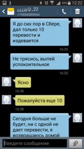 Переписка с Илья Грейдбург (брачный аферист)