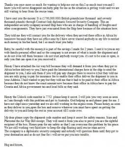 Брачный аферист - Smith Abent (последнее письмо)